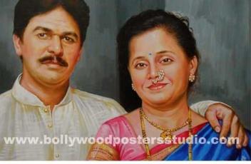 Best portrait painter in mumbai , INDIA