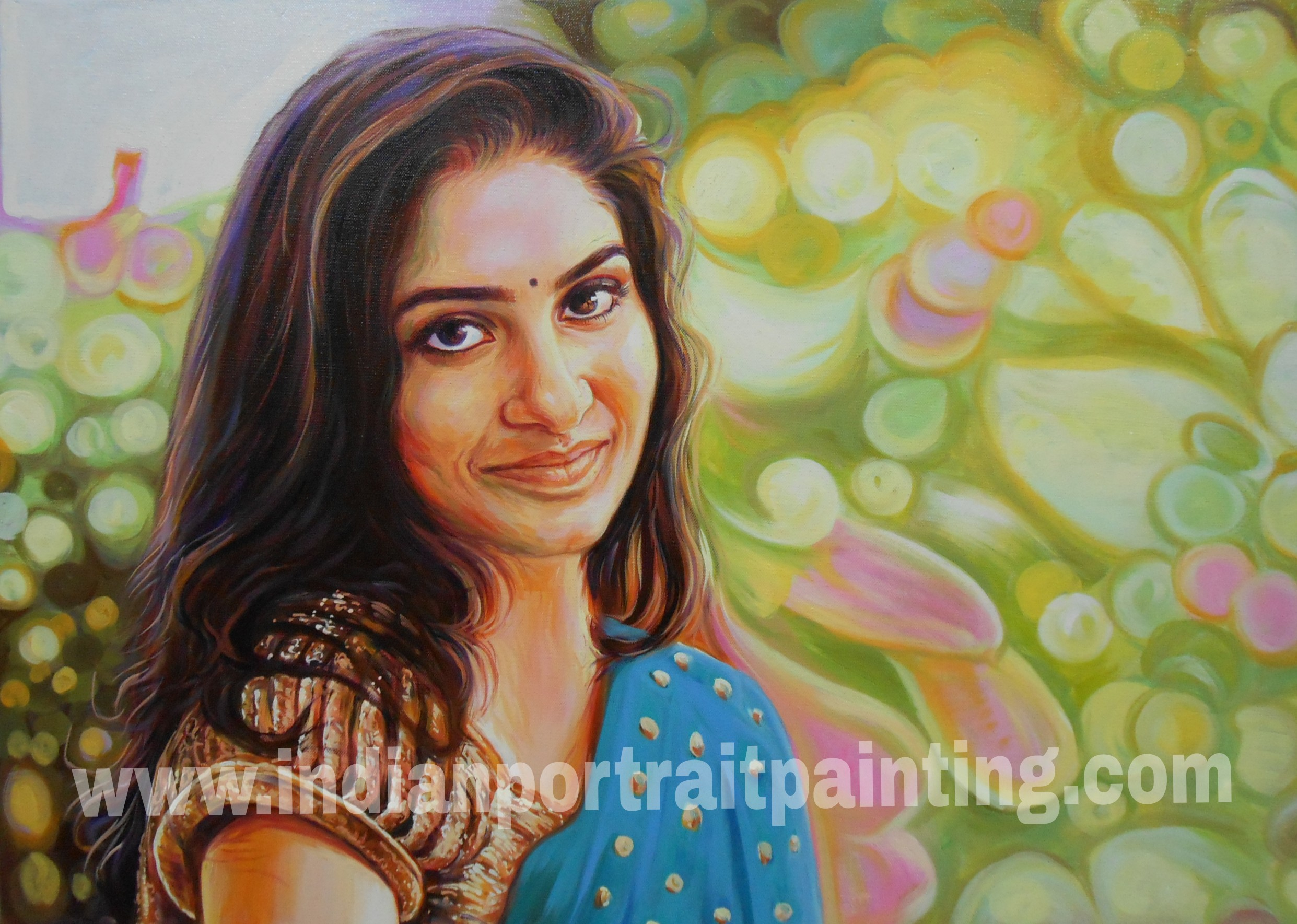 Canvas painting artist in mumbai