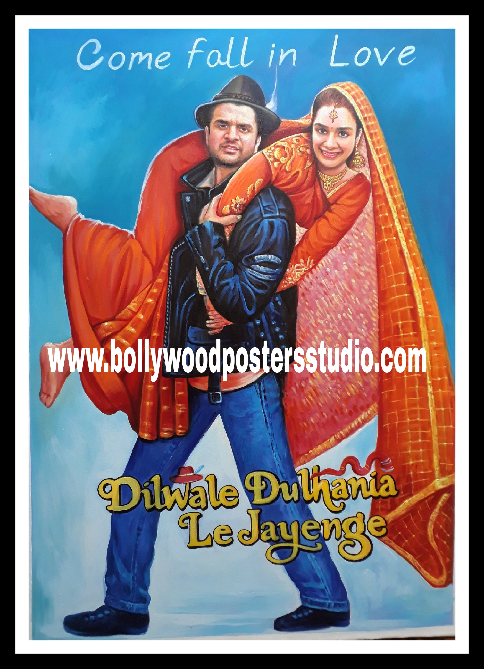 Put my photo in famous movie posters – Indian Portrait Painting