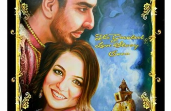 Custom made bollywood poster