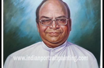 Hand made portrait painting